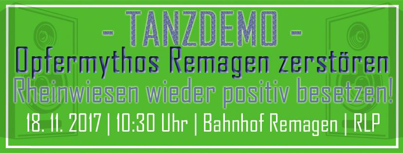 Opfermythos Remagen zerstören – Rheinwiesen wieder positiv besetzen!