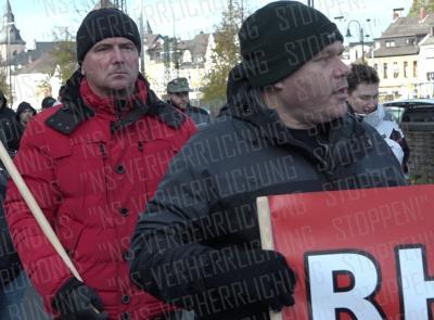 Neonazi aus Duisburg 3 (links), Thomas Eckleder (rechts)